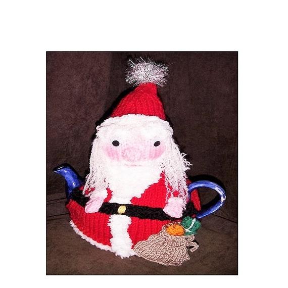 Tea Cosy Knitting Pattern Christmas Tea Cosy Knitting Etsy