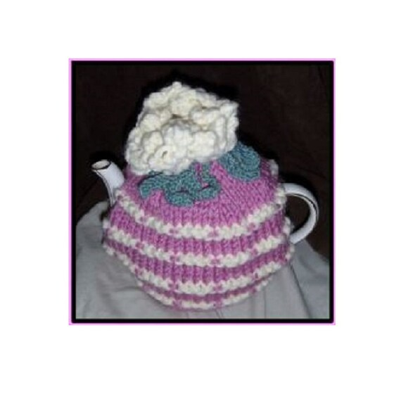 Water Lillly Tea Cosy Knitting Pattern Exclusive Knitting Etsy