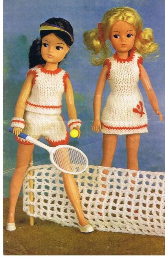 Doll Knitting Pattern Vintage Knitting Pattern Sindy Doll Etsy