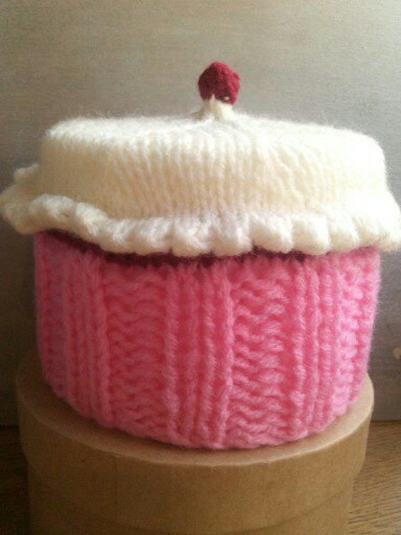 TOILET ROLL COVER Knitting Pattern Cupcake Style Knitting | Etsy