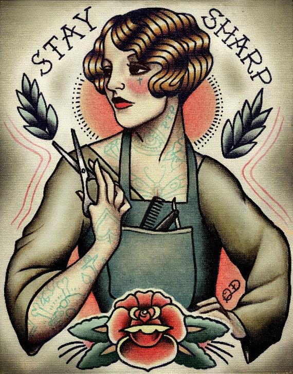 Tattoo Friseur