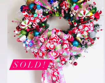 Whimsical Wonderland Wreath (with twinkle lights)