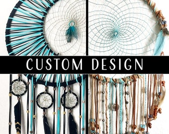 Dreamcatcher — Custom Size & Design Made to Order