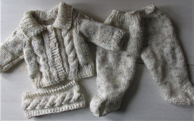Baby Born Doll Clothes Knitting Pattern   Etsy