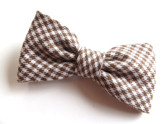 Handmade Wool Blend Bow Tie in Tartan Father /& Son Gift Set