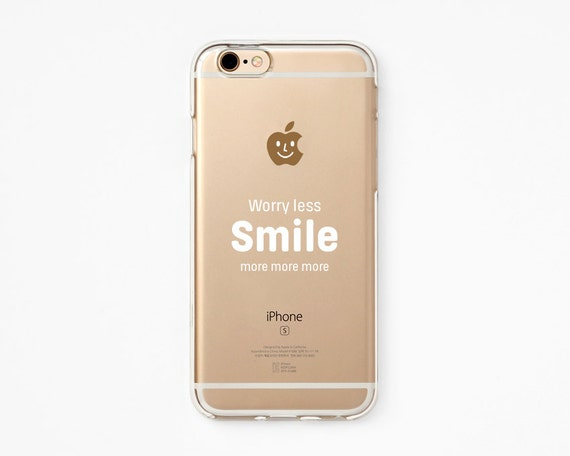 info for 0b0ee 61892 iPhone 6s Case - Smile More - iPhone 6s case, iPhone 7 case, iPhone 6s+  case, iPhone 8 - Clear Flexible Rubber Silicone TPU case J15...