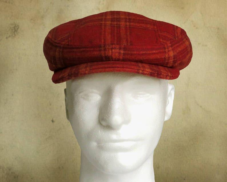 77a870f4a43ef2 SEWING PATTERN Finch 1920's Irish Flat Cap Ivy Cap for   Etsy