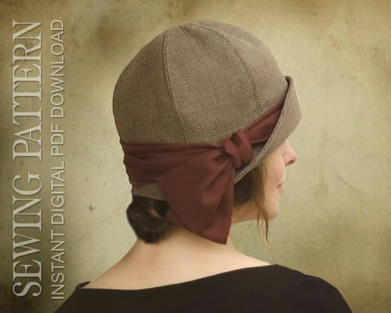 Sewing Pattern Lucille 1920s Twenties Cloche Hat For Child Etsy