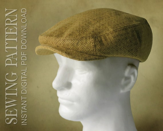 sewing pattern finch 1920 s irish flat cap for child or etsy