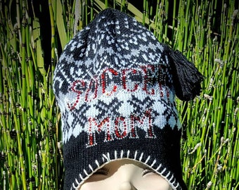 7bbc5f204e1b4 Nordic look  cute  bling  Mom  elf  hoodie  pixie  hat  ski  livefolk   beanie  snow  gift  surf  soccermom  style  love  ski  goodvibes  me