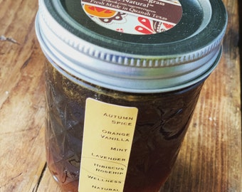 HERBAL INFUSED HONEY {Local Honey, Organic Herbs, Healing, Naturally Flavored, Immune Boosting, Holistic}