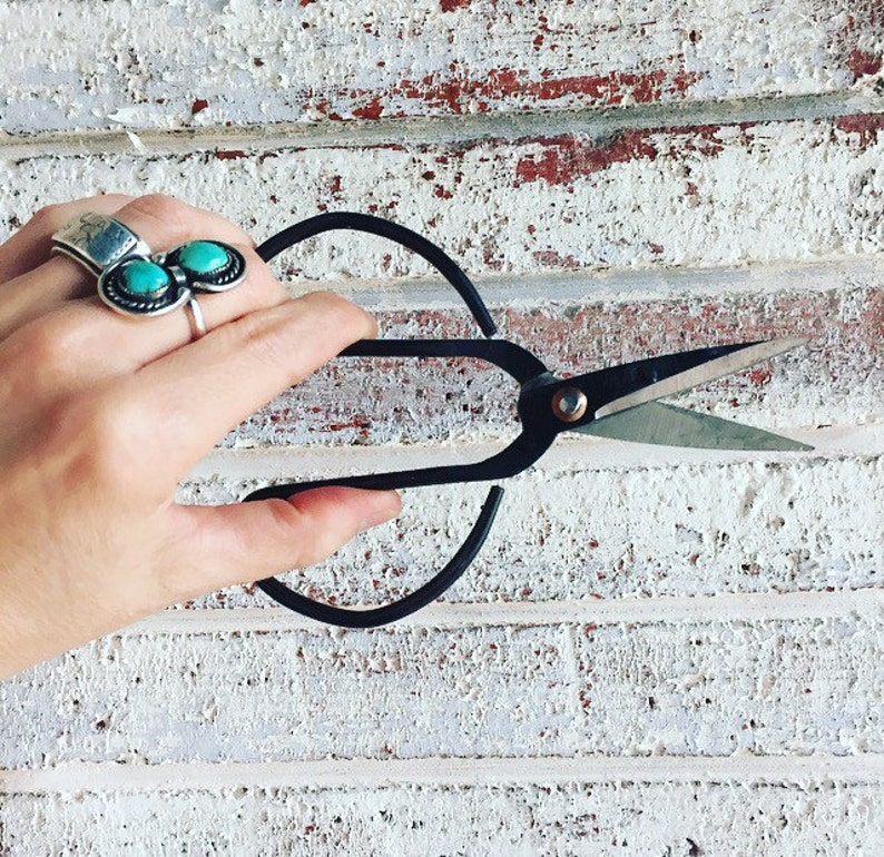 Sewing /& Garden Use} METAL UTILITY SCISSORS {Very Sharp for Household