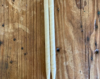 BEESWAX EAR CANDLES {Removes Excess Wax, Dirt, Pathogens, Fluid from Ears, Relaxing}