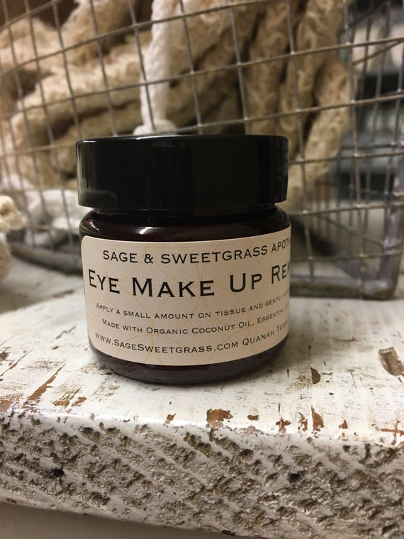 EYE MAKEUP REMOVER {Organic Coconut Oil, Vitamin E, Essential Oils}