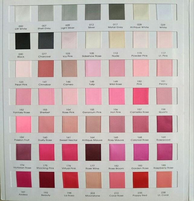 10yards 1 Inch Single Face Satin Ribbon You Choose Colors Etsy