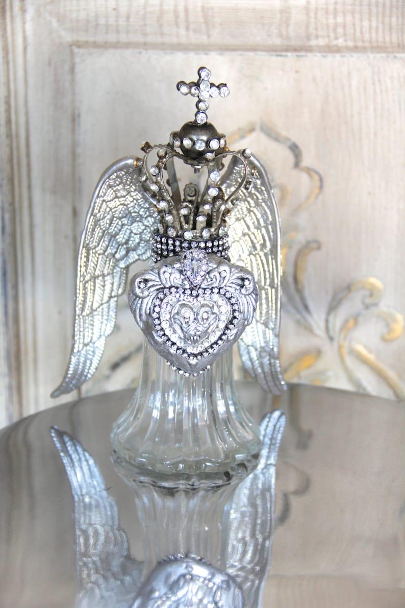 Altered silver salt shaker silver salt shaker vintage image 0