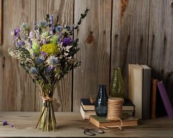 English Garden Dried Bouquet, Large