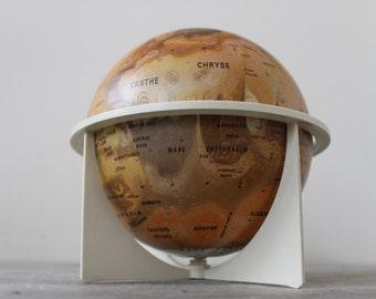 Rare Vintage Replogle Mars Globe - TREASURY PICK