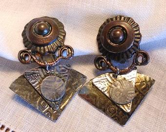 Earrings clips (418)
