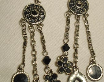 Earrings vintage/pierced (288)