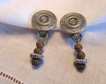Earrings clips (425)