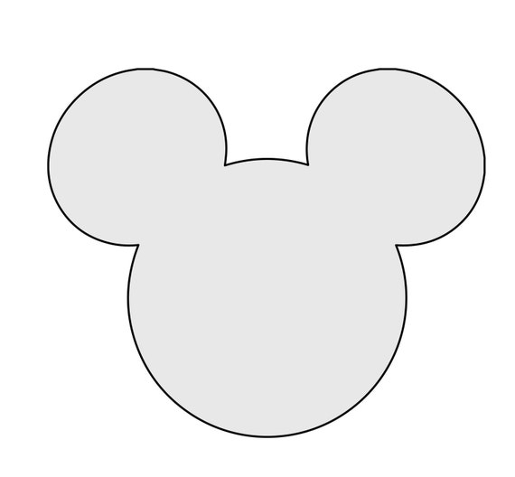 40 H String Art Mickey Mouse Pattern Template Mickey Etsy Interesting Mickey Mouse Pattern