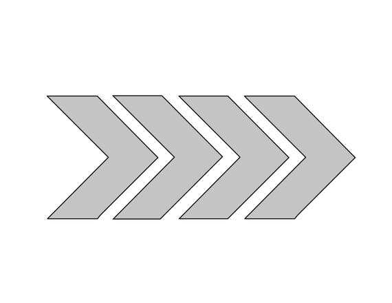 This is an image of Simplicity Printable Arrow Template