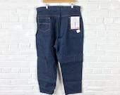 Size 37x27 Vintage Women s 1950s 1960s NOS Anvil Brand Sanforized Denim J nettes Jeans