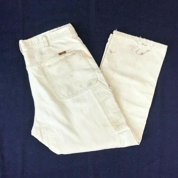 Size 36x27 Vintage Men's US Made Big Ben White Den