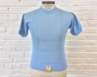 Vintage 1960s Washington Dee Cee NOS Button Down S/S Shirt. Size M (15-15 1/2) 1052 qBfdZ