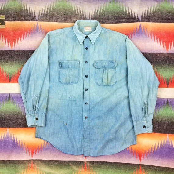 Size M / L Vintage 1930s 1940s Model Brand Faded &
