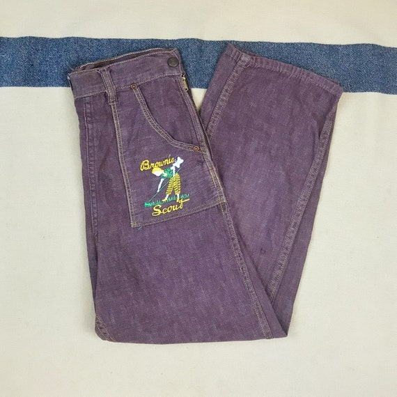 Size 25x22 Vintage 1950s 1960s Girl Scouts Brownie
