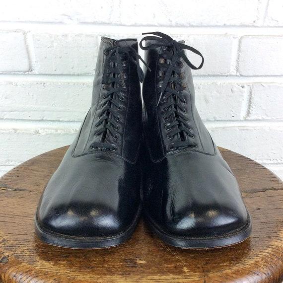 Size 10 1/2 EEEE Men's NOS Vintage 1930s Fold Bond