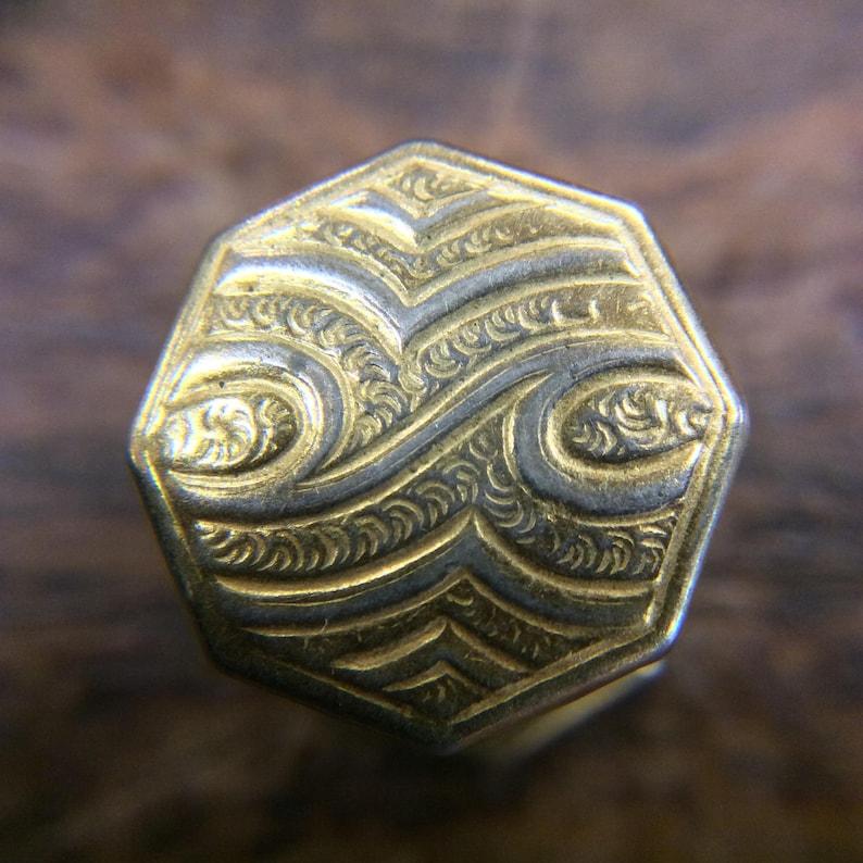 Vintage 1920s Kum-A-Part Art Deco Kuff Buttons Button Cuff Links by Baer /& Wilde