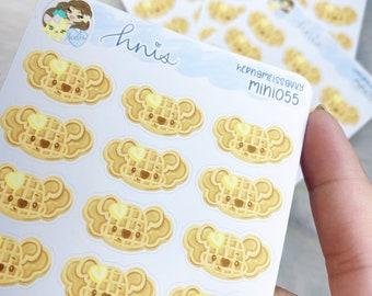 MINI055 - Kohei Waffle Sticker Sheet