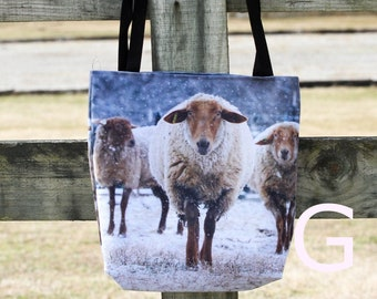 Sheep Knitting Bag