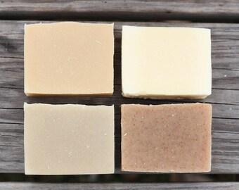 Set of Four Goat Milk Soap