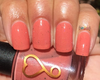 Nice Peaches! nail polish