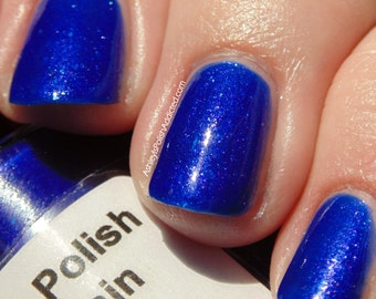 Mountain Nights deep royal blue jelly polish