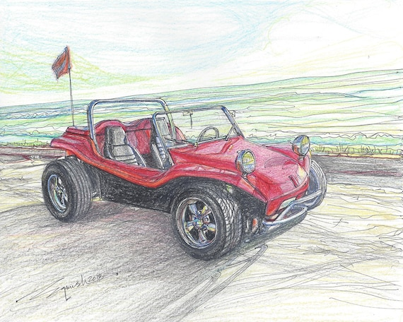 266-Manx Dune Buggy - Limited Edition Run of 50 (8x10, 16x20)