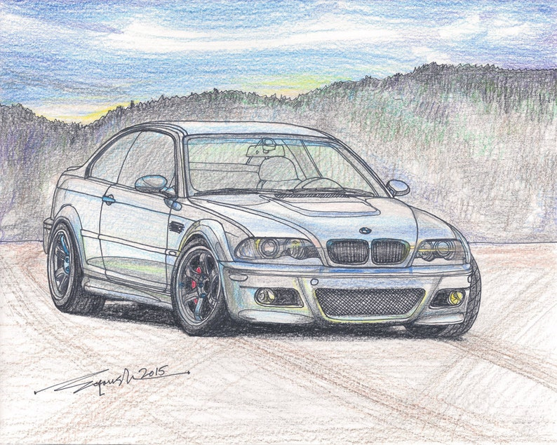 167 2000 Bmw M3 E46 Limited Edition Run Of 50 8x10 16x20
