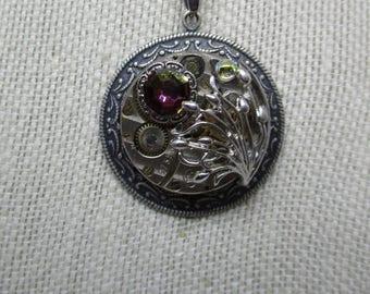 Steampunk Watch Pendant