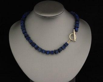 Helen Wang Necklace - 14K Gold Filled, Lapis Lazuli, Pyrite
