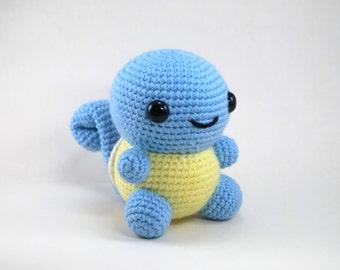 Crochet Pattern: Amigurumi Chubby Squirtle