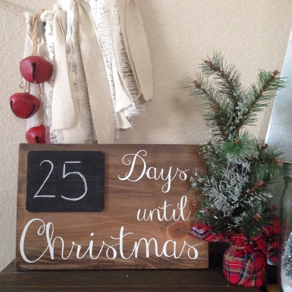 Days Till Christmas Chalkboard.Days Until Christmas Countdown Board Sign Days Til Christmas Countdown Sign Chalkboard Countdown Sign Christmas Decor Countdown