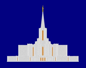 a0cb1f7aa393 Jordan River Utah Temple Embroidery Machine Design