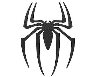 Spider Embroidery Design