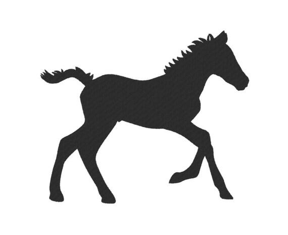 Foal Baby Horse New Paint Jacket Handbag Purse Zipper Pull Charm