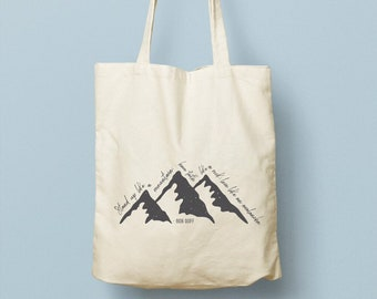 080a43bf0a Mountain tote bag