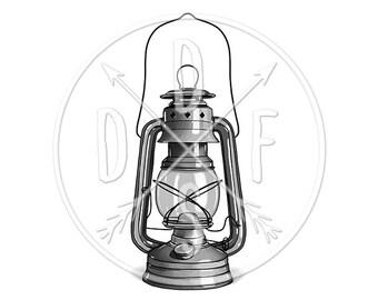 Antique Lantern Png